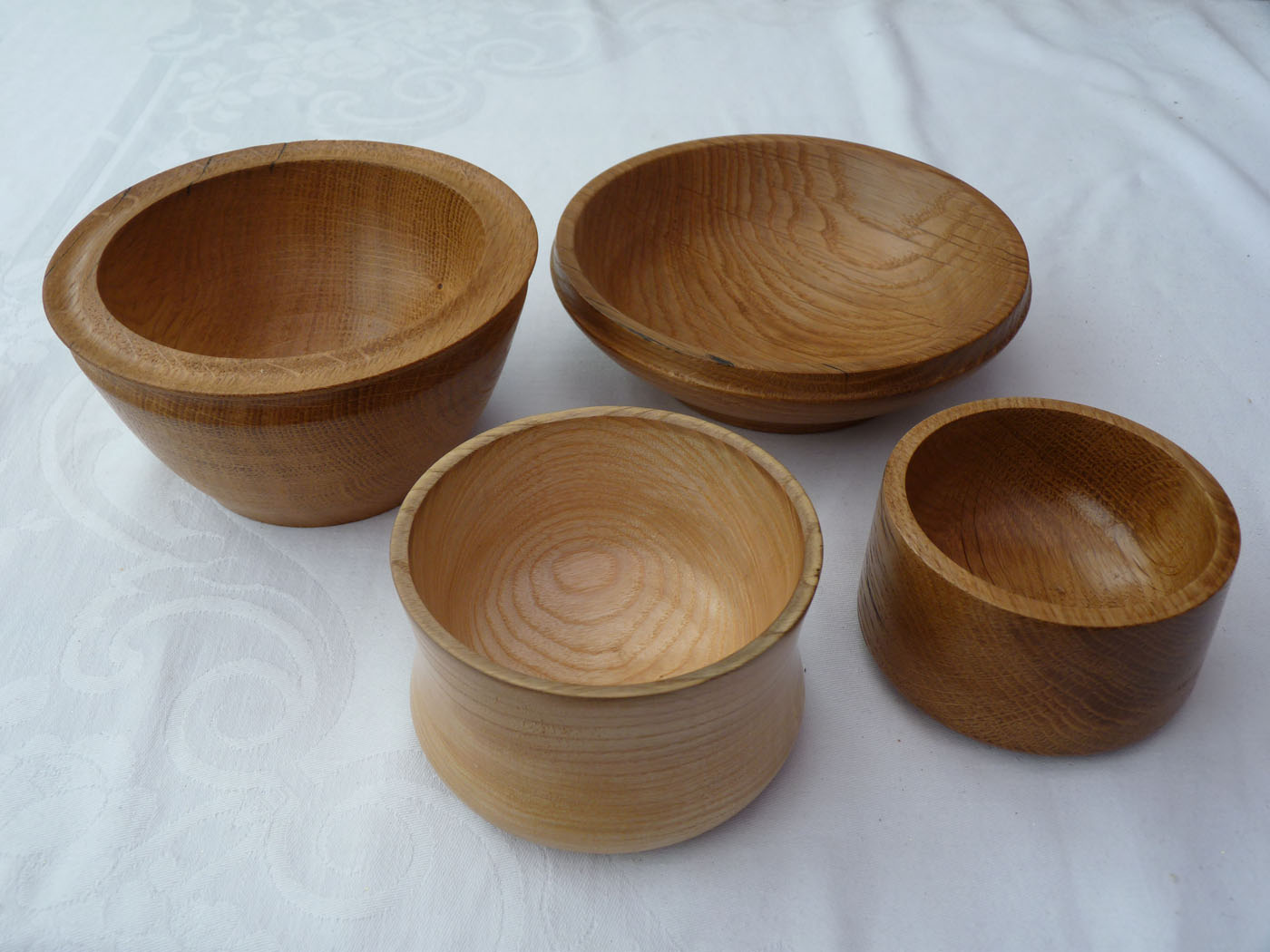 Woodturned Bowls - approx 15cm wide