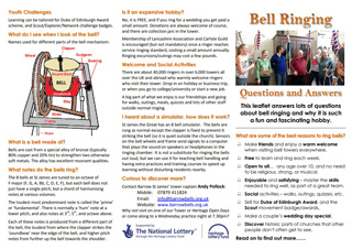 Barrow Bells - FAQs and Introduction to Ringing